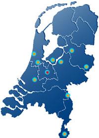 Door gebruik te maken van 10 Steunpunten, te weten Velsen Noord, Nunspeet, Uithoorn, Gouda, Zwolle,Utrecht, Heerlen, Enschede, Ottersum en Almere, lukt het Centrale Verkeersdiensten om in ad-hoc situaties snel ter plaatste te zijn.